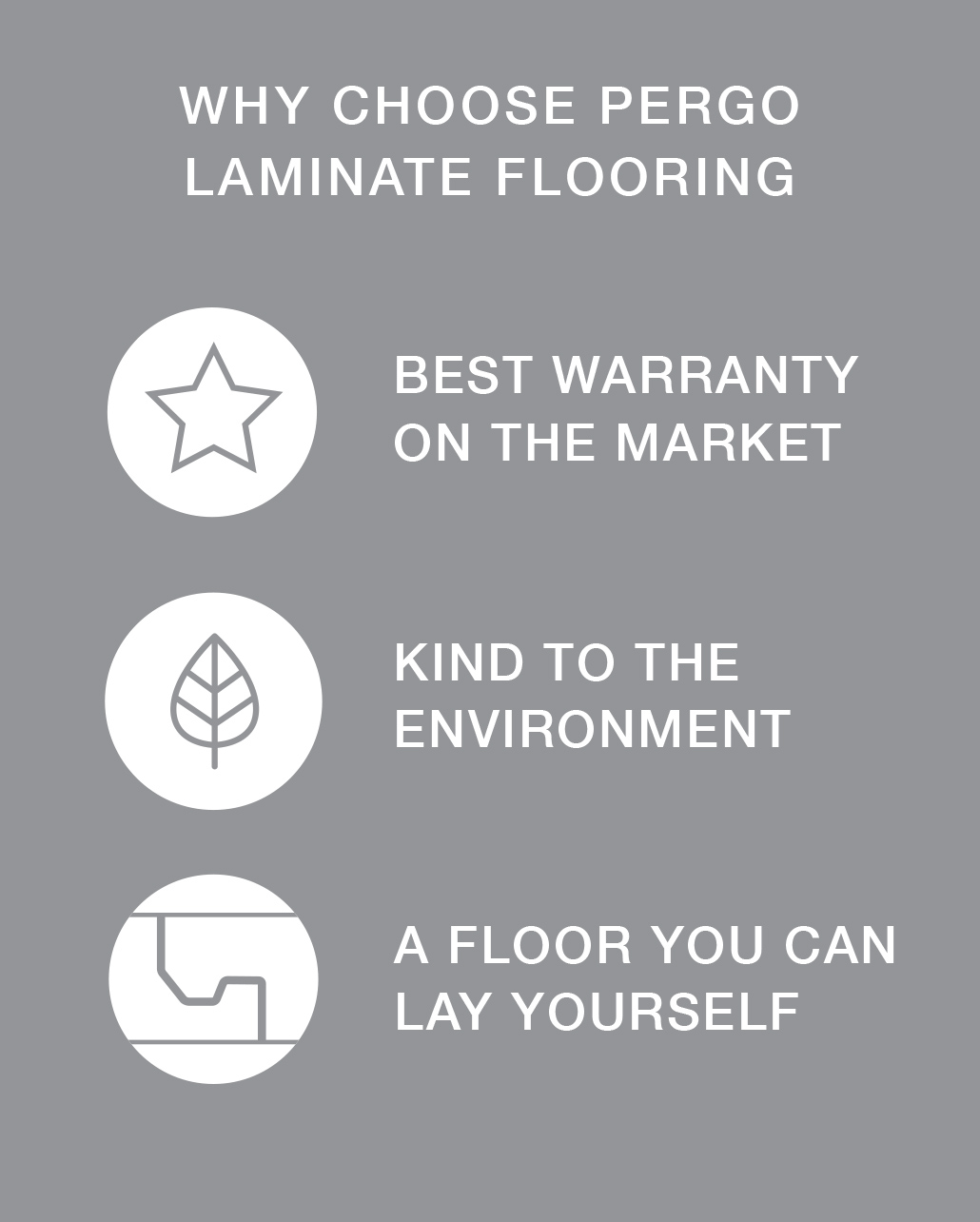 Why choose a laminate floor from Pergo